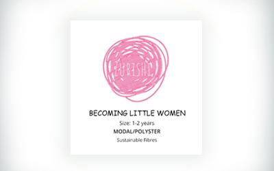 Becoming Little Women Sticker