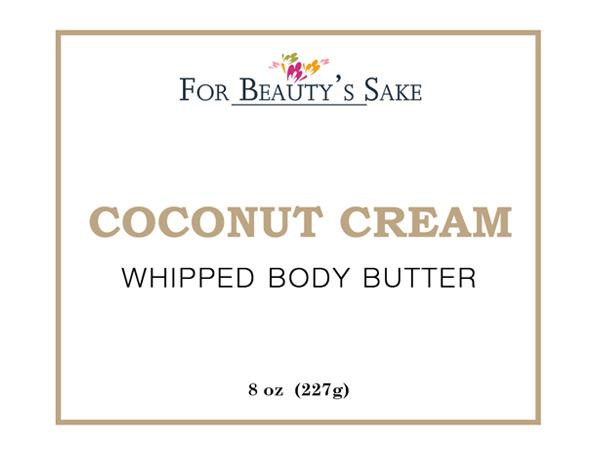 Coconut Cream Sticker
