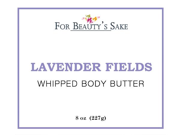 Lavender Flelds Sticker
